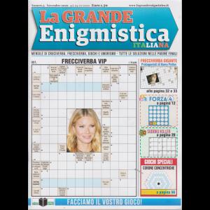 La grande enigmistica italiana - n. 5 - novembre 2020 - mensile