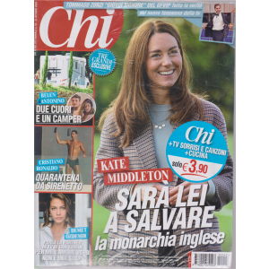 Chi + Tv Sorrisi e Canzoni + cucina - n. 43 - settimanale - 21 ottobre 2020 - 3 riviste