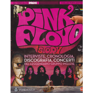 Classic Rock Monografie ultra - Pink Floyd  story - n. 6 - bimestrale - novembre - dicembre 2020 -