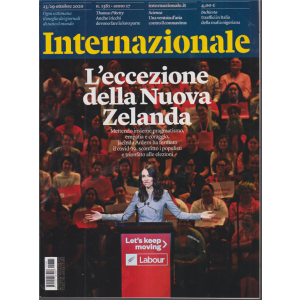 Internazionale - n. 1381 - 23/29 ottobre 2020 - settimanale