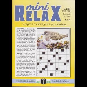 Mini Relax - n. 5 - settimanale - 27/10/2020