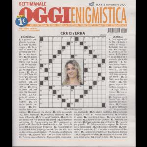 Settimanale Oggi Enigmistica - n. 44 - 3 novembre 2020 -