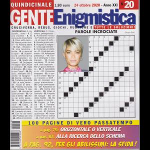 Gente Enigmistica - n. 20 - quindicinale - 24 ottobre 2020 - 100 pagine di vero passatempo