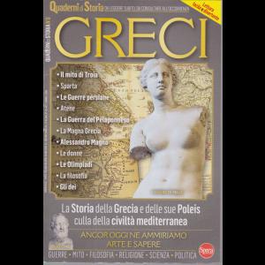 Quaderni di Storia - Greci - n. 6 - bimestrale - ottobre - novembre 2020 -