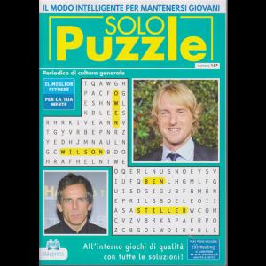 Solo Puzzle - n. 157 - bimestrale - 24/10/2020 -