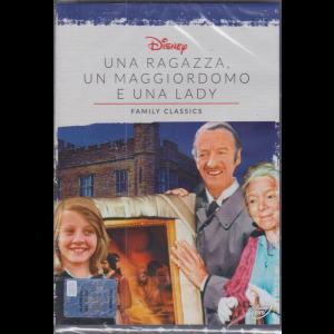 I Dvd Fiction di Sorrisi - n. 36 - Una ragazza, un maggiordomo e una lady - Family classics - 27/10/2020 - settimanale - settima uscita
