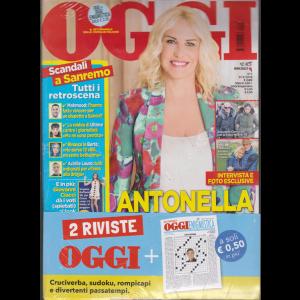 Oggi + Oggi enigmistica - n. 7 - settimanale - 21/2/2019 - 2 riviste