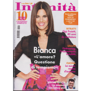 Intimita' - B. Guaccero - n. 44 - settimanale - 4 novembre 2020