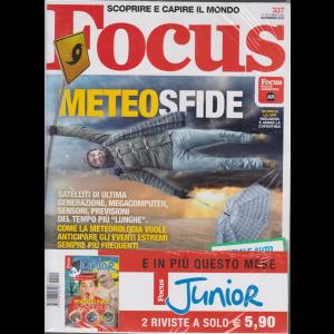 Focus + Focus Junior - n. 337 - novembre 2020 - 2 riviste