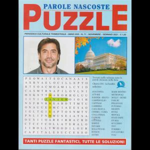 Parole Nascoste Puzzle - n. 71 - trimestrale - novembre - gennaio 2021 -