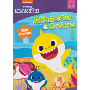 Panini Attacca e  Stacca - Baby Shark  - n. 7 - bimestrale - 29 ottobre 2020 -