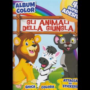 Album color - Gli animali della giungla - n. 54 - bimestrale - 29 ottobre 2020 -