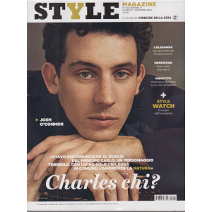 Style Magazine - n. 11 - novembre 2020 - mensile