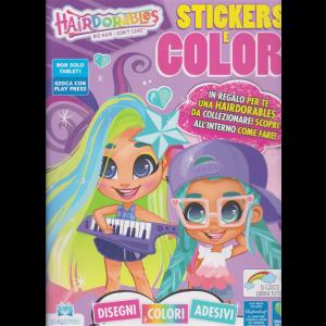 Hairdorables - Stickers e colori - n. 1 - bimestrale - 26/10/2020 -