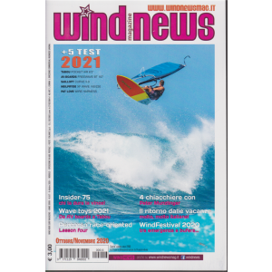 Wind News Surf magazine - n. 6/7 - 6 ottobre 2020 - mensile
