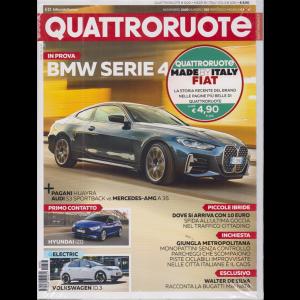 Quattroruote + Made by Italy Fiat - 2007 - 2018 i migliori articoli - n. 783 - novembre 2020 - mensile - 2 riviste