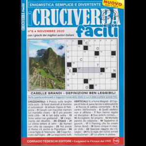 I Cruciverba Facili - n. 6 - novembre 2020 - mensile -