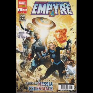 Marvel Miniserie - Empyre - n. 237 - L'ascesa del Messia celestiale - quindicinale - 29 ottobre 2020