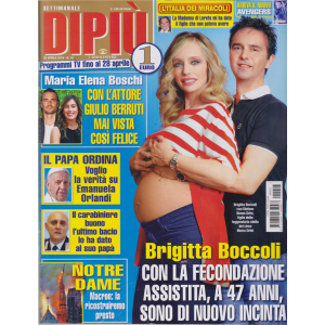 Settimanale Dipiu' - n. 16 - 29 aprile 2019 -