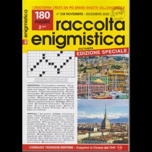 Raccolta Enigmistica - n. 238 - novembre - dicembre 2020 - 180 pagine
