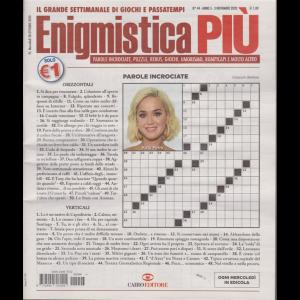 Enigmistica Piu' - n. 44 - settimanale - 3 novembre 2020