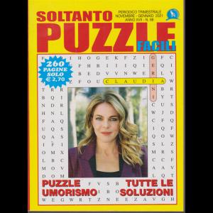 Soltanto Puzzle Facile - n. 68 - trimestrale - novembre - gennaio 2021 - 260 pagine