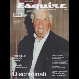 Esquire - n. 11 - novembre 2020 - bimestrale