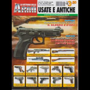 La vetrina delle armi usate e antiche - n. 186 - novembre 2020 - mensile
