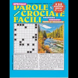 Speciale Parole Crociate facili - n. 57 - trimestrale - novembre - gennaio 2021 - 132 pagine