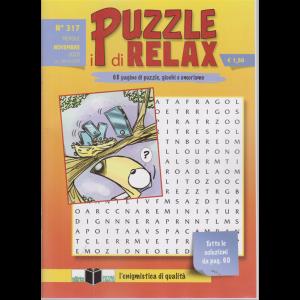 I Puzzle di Relax - n. 317 - mensile - novembre 2020 -