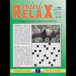 Mini Relax - n. 2006 - settimanale - 3/11/2020 -