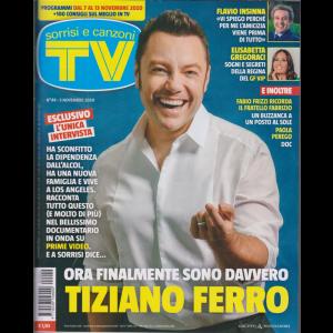 Sorrisi e Canzoni Tv - n. 44 - 3 novembre 2020 - settimanale