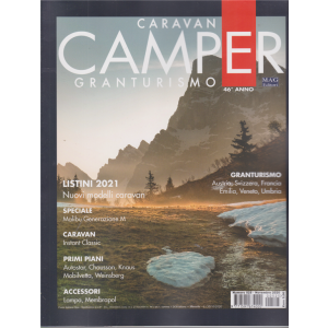 Caravan e Camper  - Granturismo - n. 525 - novembre 2020 - mensile