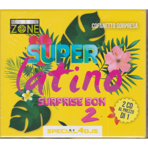 Music Zone - Super Latino 2 suprise box - 2 cd - cofanetto sorpresa - n. 1 - bimestrale - marzo 2019