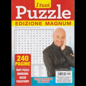 I tuoi puzzle - edizione magnum - n. 5 - trimestrale - novembre/dicembre 2020/gennaio 2021 - 240 pagine
