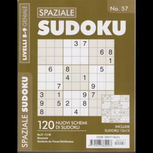 Spaziale Sudoku - n. 57 - livelli 8-9 geniale - bimestrale