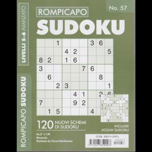 Rompicapo Sudoku - n. 57 - livelli 5-6 avanzato - bimestrale