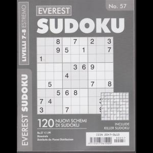 Everest Sudoku -  - n. 57 - livelli 7-8 estremo - bimestrale