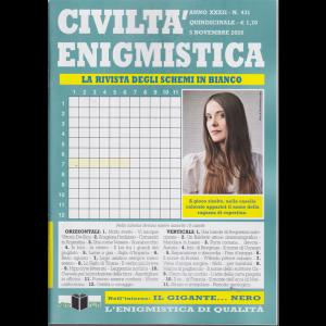Civilta' Enigmistica - n. 431 - quindicinale - 5 novembre 2020
