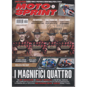 Motosprint - n. 44 - 3/9 novembre 2020 - settimanale -