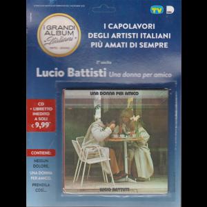 Cd Sorrisi Collezione - n. 121 - Lucio Battisti - Una donna per amico - seconda uscita - cd + libretto inedito - 3/11/2020 -