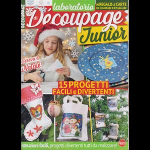 Laboratorio di decoupage junior - + in regalo le carte da colorare e ritagliare - n. 3 - bimestrale - novembre - dicembre 2020