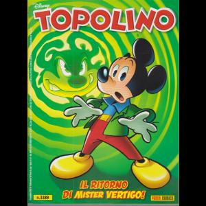 Topolino - n. 3389 -Il ritorno di Mister Vertigo! settimanale - 4 novembre 2020 -