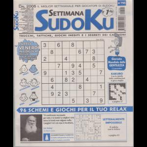 Settimana Sudoku - n. 795 - settimanale - 6 novembre 2020 -