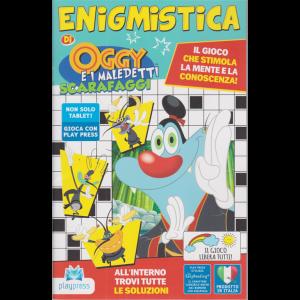 Enigmistica di Oggy  e i maledetti scarafaggi - n. 21 - bimestrale - novembre - dicembre 2020 -