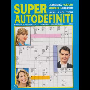 Super Autodefiniti - n. 121 - bimestrale - novembre - dicembre 2020 -