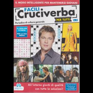Facili cruciverba per tutti - n. 4 - bimestrale - 30/10/2020 -