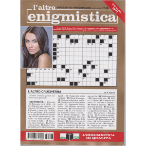 L'altra Enigmistica - n. 493 - mensile - novembre 2020