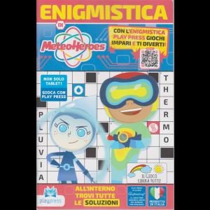 Enigmistica di MeteoHeroes - n. 1 - novembre - dicembre 2020 - bimestrale -