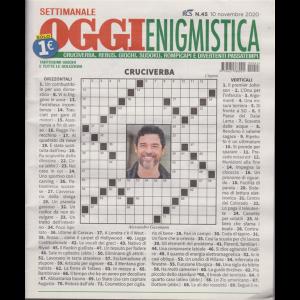 Settimanale Oggi Enigmistica - n. 45 - 10 novembre 2020